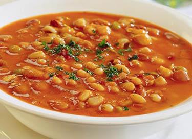 Квасолевий суп по-грецьки