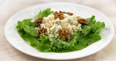 Салат з листя салату і сиру