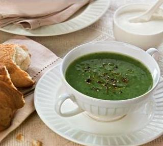 Суп-пюре із крес-салату