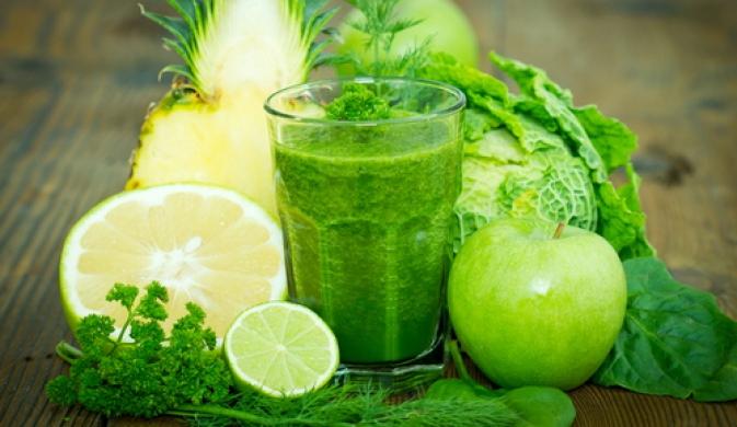 Зелені смузі для очищення організму
