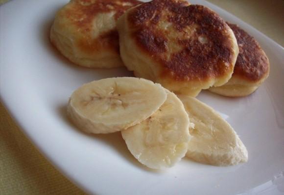 Вівсяні сирники з бананом