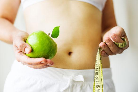 5 денна яблучна дієта для схуднення