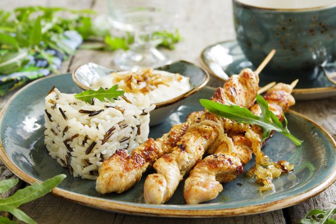 Білкова дієта з рисом