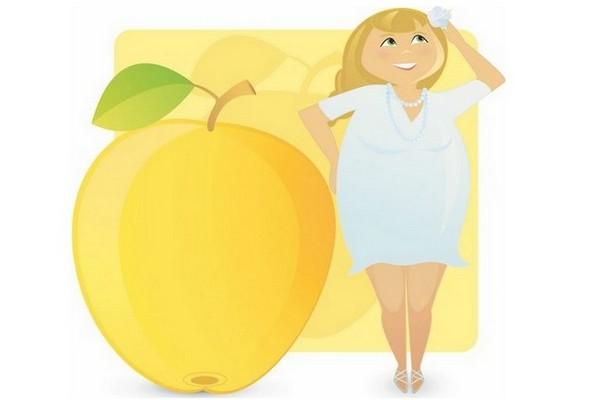 Дієта правильного харчування для жінок з тілобудовою типу