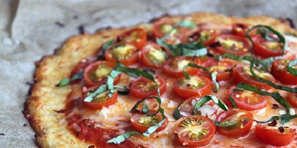 Яскрава дієтична піца без тіста