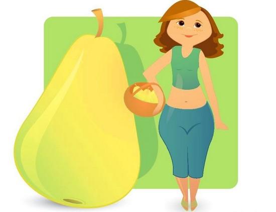 Дієта правильного харчування для жінок з типом тілобудови