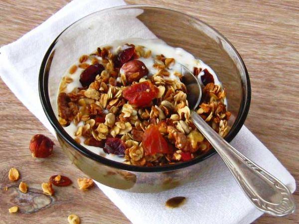 Гранола - ідеальний сніданок і не тільки