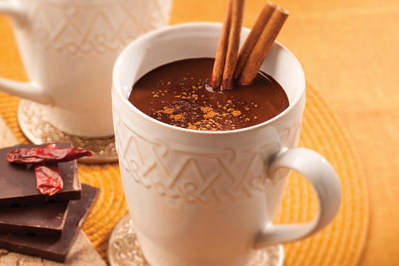Гарячий шоколад з перцем чилі