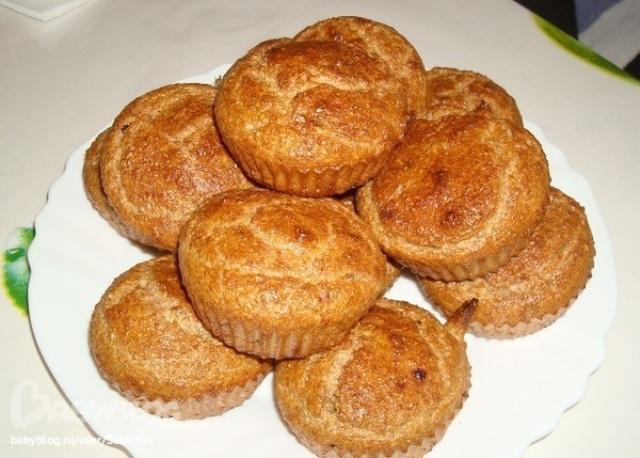 Кекси за Дюканом в мікрохвильовці (4 рецепти)