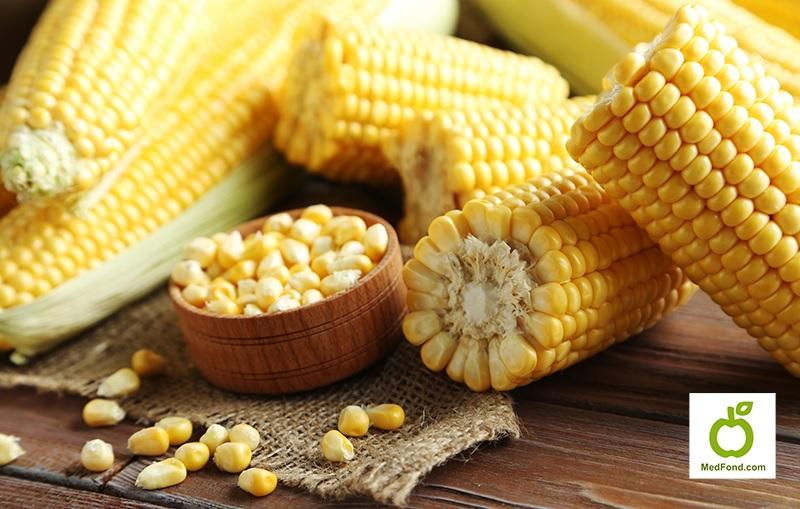 Кукурудза - лікувальні властивості