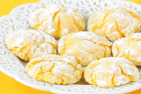Лимонне печиво на кефірі