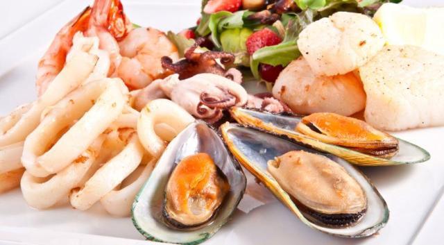 Морепродукти - здоров'я та краса