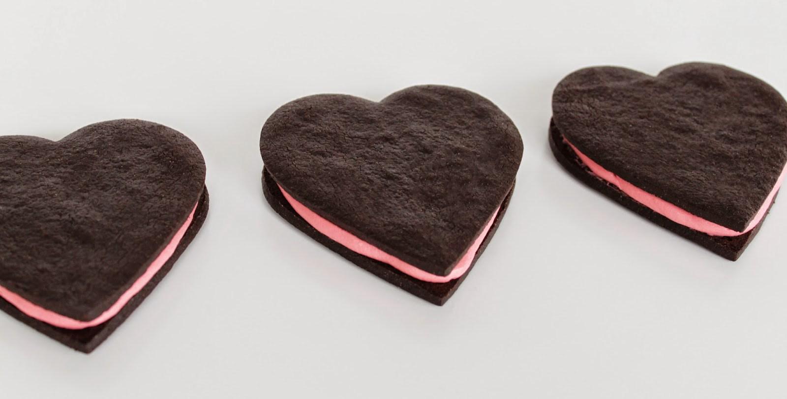 До дня Святого Валентина: печиво «Серце Валентина» без випічки