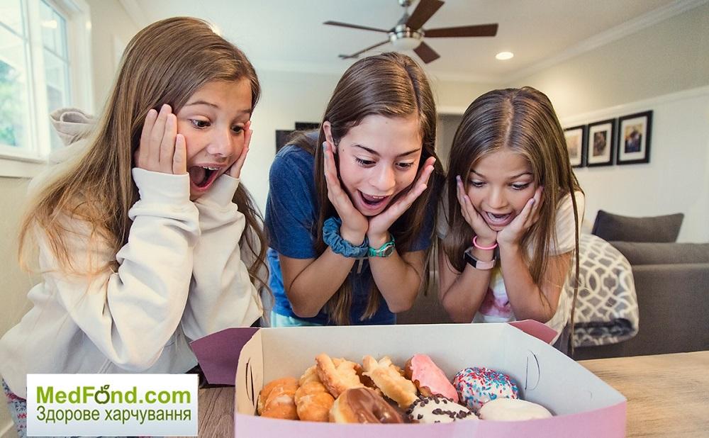 Підлітковий вік і здорова їжа