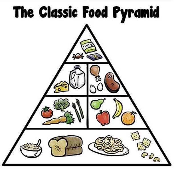 Піраміда здорового харчування і Гарвардська тарілка – що й до чого, та як у нас