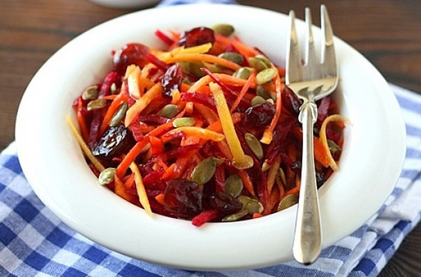 П'ять кращих рецептів вітамінних салатів з осінніх овочів