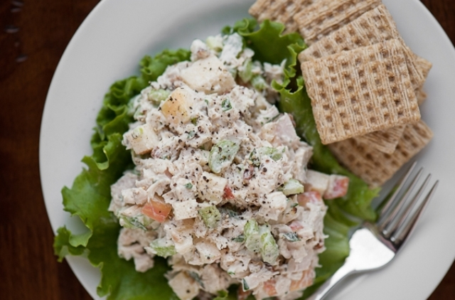 Дієтичний салат з індички