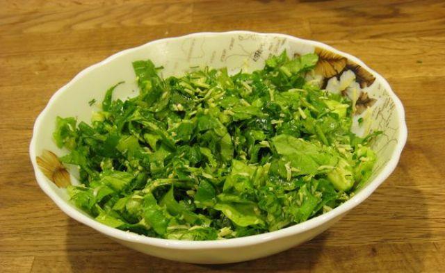 Салати з листям салату