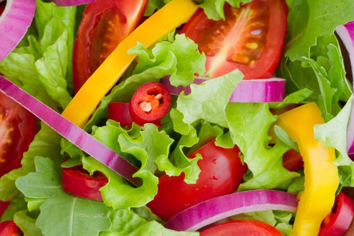Яскраві салати