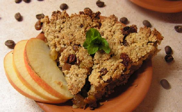 Хрустке печиво з вівсянкою та сухофруктами