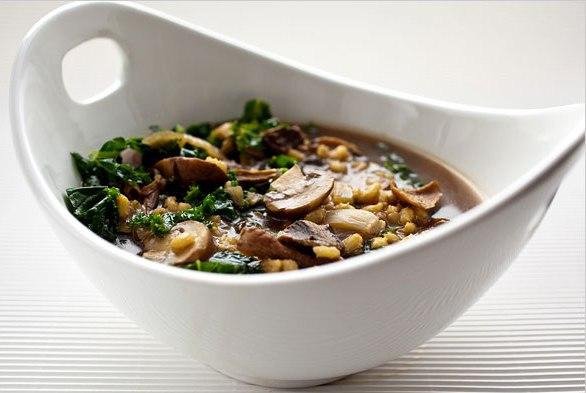 Пісні супи з грибами