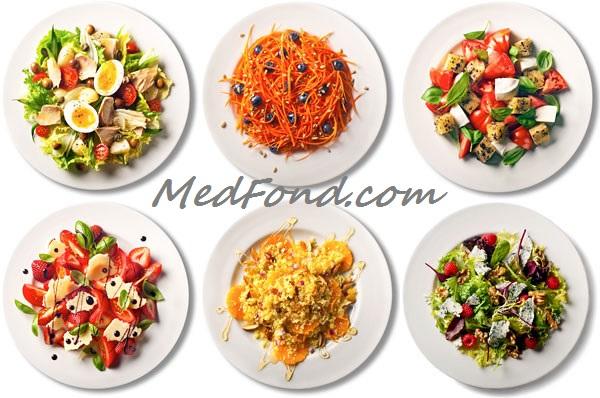 Топ-5 ідей салатів для легкої вечері