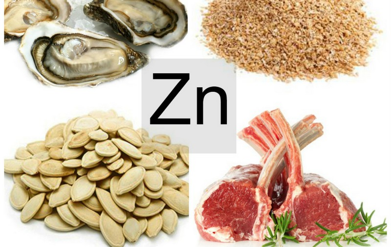 Цинк у продуктах харчування та його користь