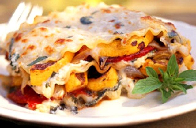 Вегетаріанська лазанья