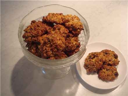 Вівсяно-бананове печиво без борошна