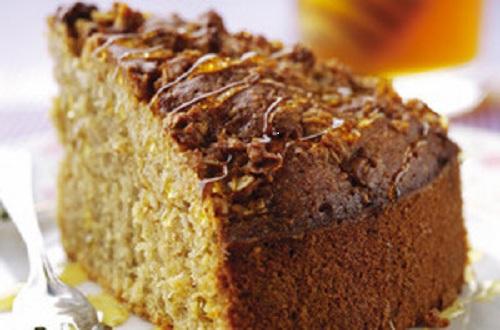 Медово-вівсяний пиріг