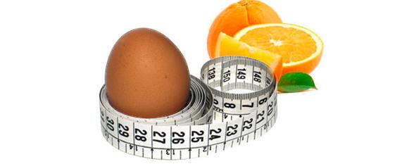 Яєчно-апельсинова дієта: користь, особливості, протипоказання