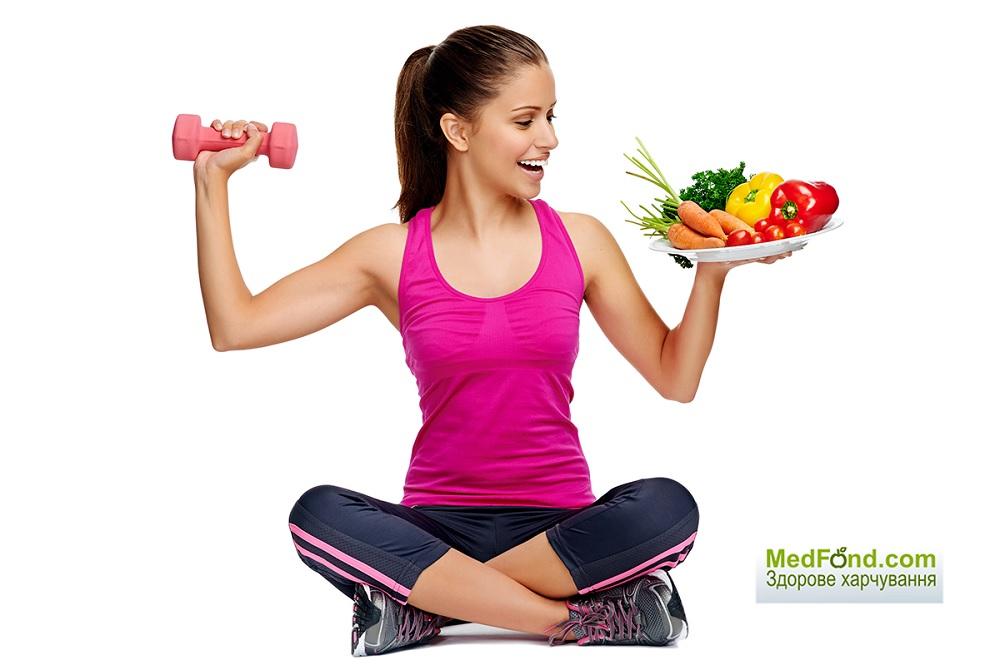 Тренування і харчування