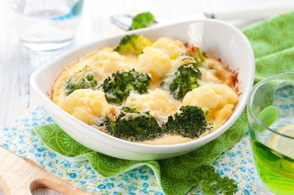 Запіканка з броколі та сиру