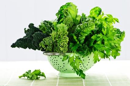 Корисні властивості зелені