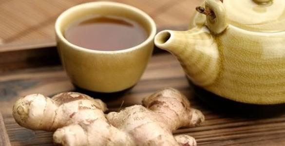 Зелений чай з імбиром