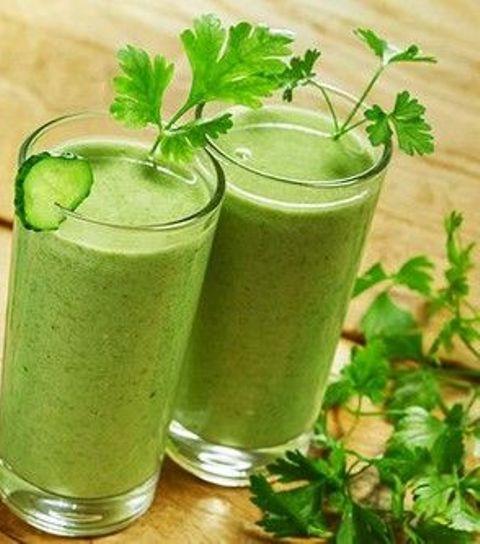 Зелений смузі з селерою